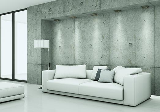 beton ciré à la Roche-sur-Yon